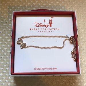 Disney Swarovski crystal bow bracelet